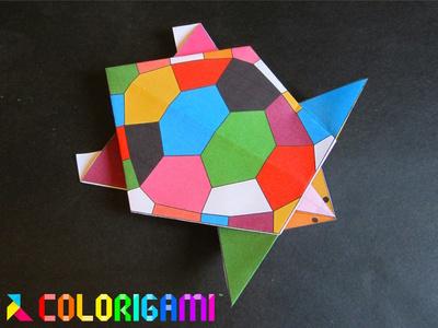 Tortue en origami